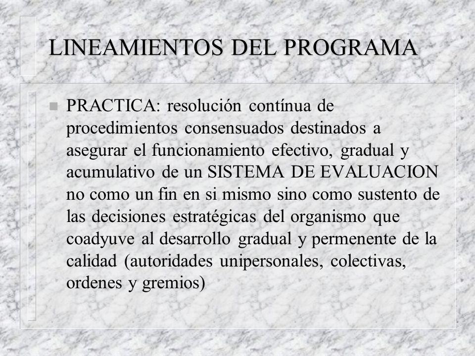 PRINCIPALES CARACTERISTICAS n Involucramiento del cuerpo de dirección co- gobernado.
