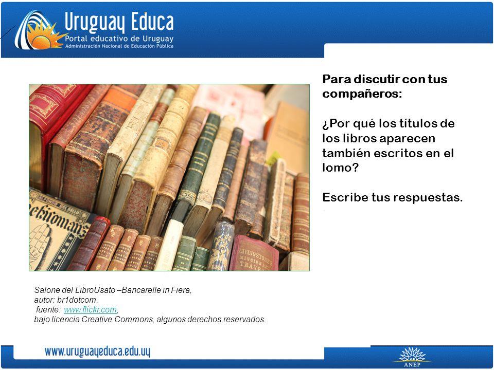 Uruguay Educa te recomienda las siguientes bibliotecas virtuales: Biblioteca Encantada, en el Centro Virtual Cervantes Biblioteca virtual Luis Ángel Arango - Sección Infantil Lectura solidaria.