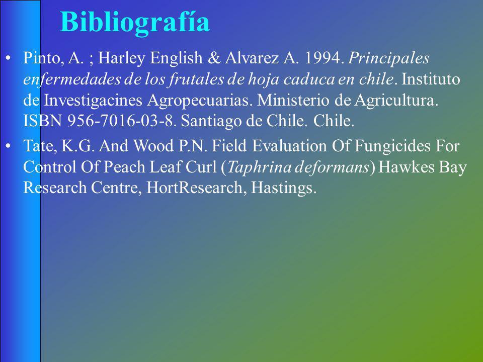Bibliografía Pinto, A. ; Harley English & Alvarez A.