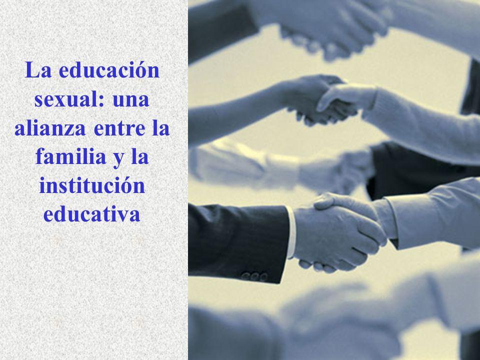 La educación sexual: una alianza entre la familia y la institución educativa