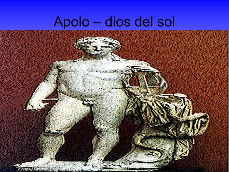 Apolo – dios del sol