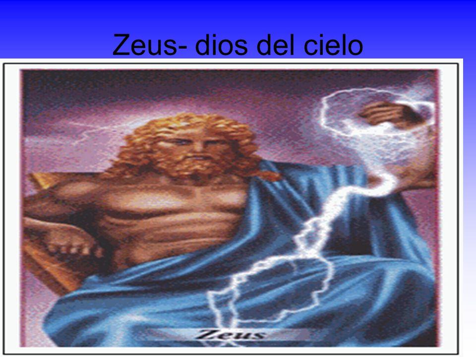 Zeus- dios del cielo