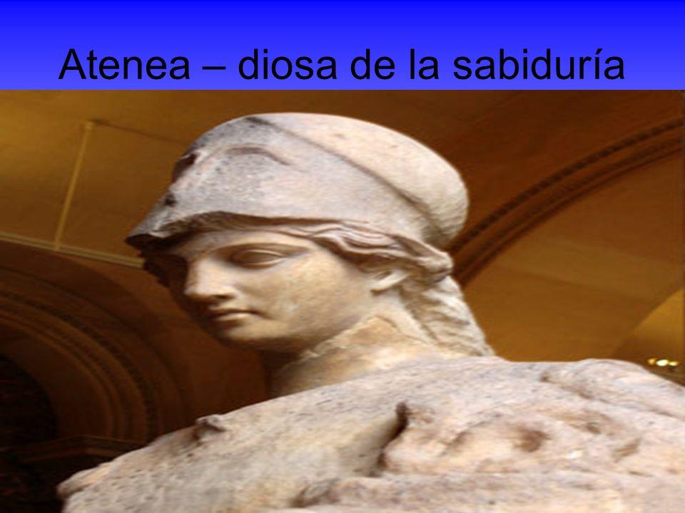 Atenea – diosa de la sabiduría