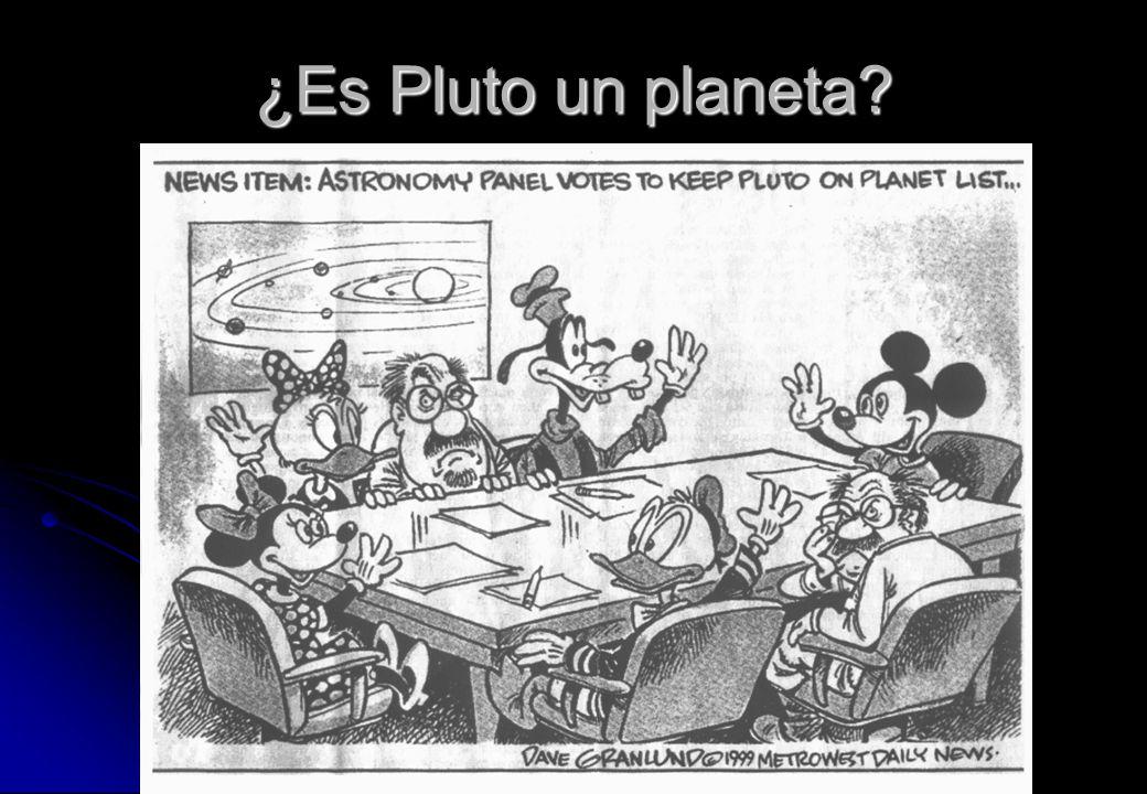 ¿Es Pluto un planeta?