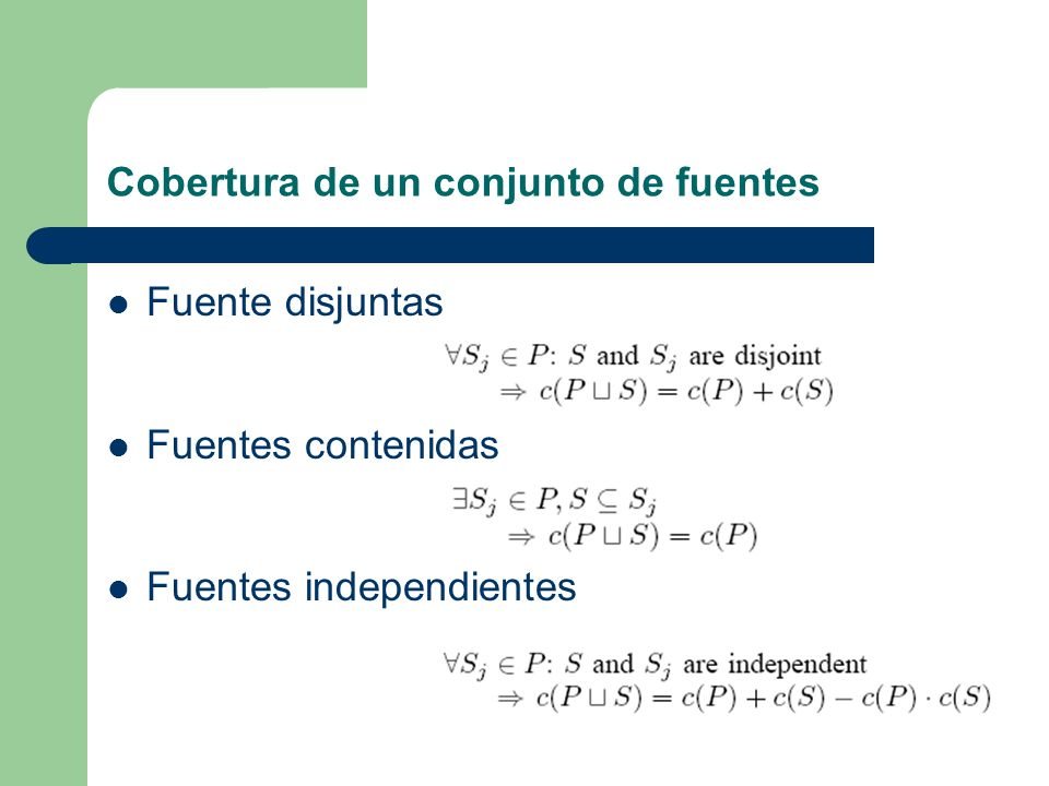Porción de valores no nulos que contiene la fuente.
