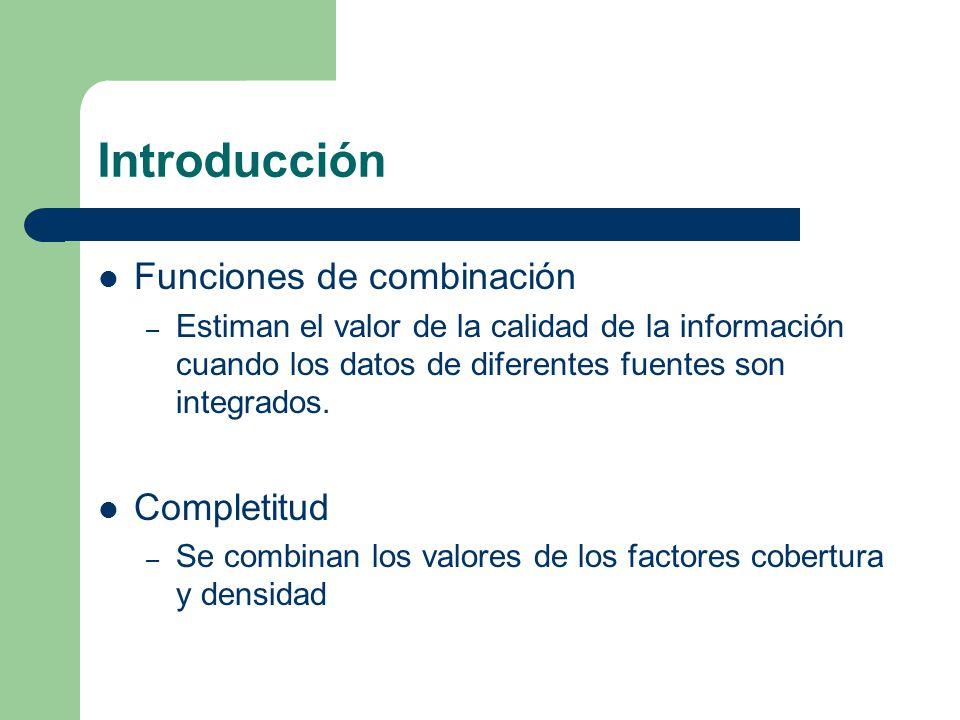 Modelo de información Esquema – Consiste en un identificador (ID) y la unión de todos los atributos que proveen las fuentes IDs consistentes – Cada objeto tiene un único identificador que esta asociado a las fuentes
