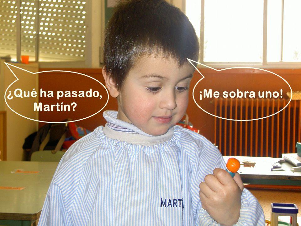 ¡Me sobra uno! ¿Qué ha pasado, Martín?