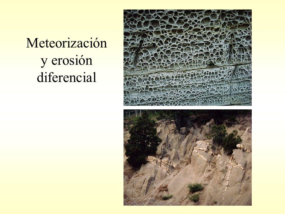 Meteorización y erosión diferencial