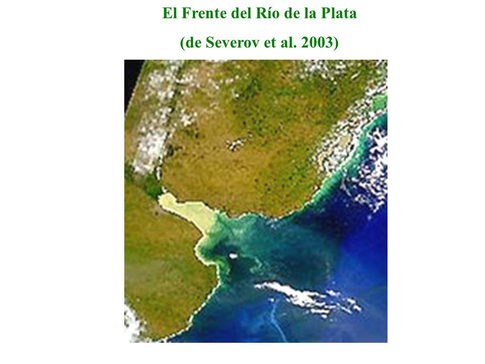 El Frente del Río de la Plata (de Severov et al. 2003)