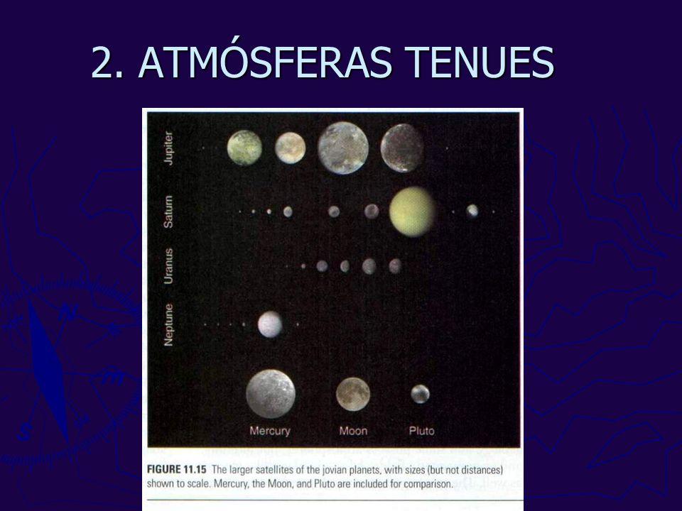 2. ATMÓSFERAS TENUES