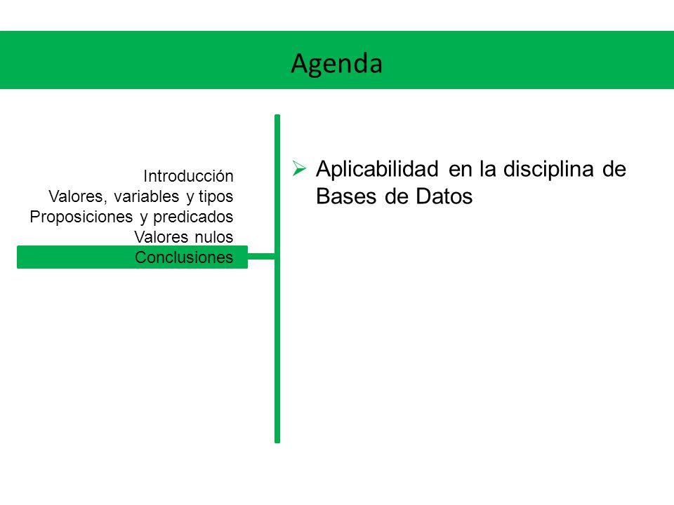 Agenda ¿Qué es la lógica.¿Por qué es importante.