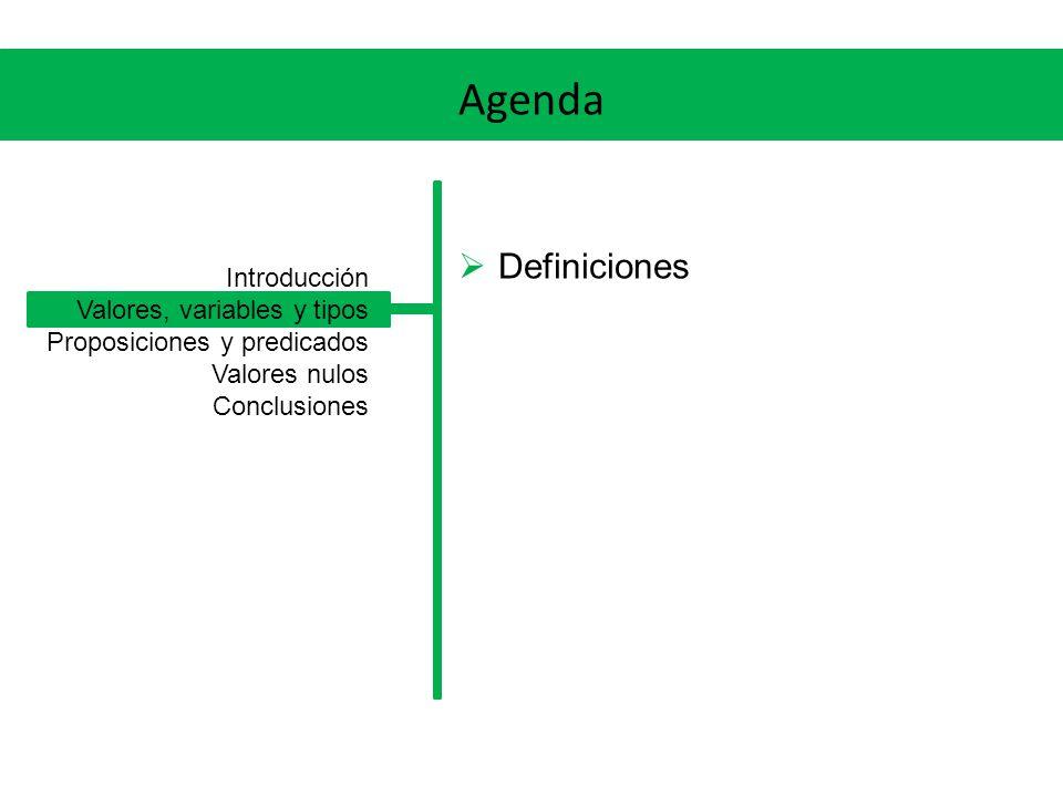 Valores, variables y tipos Un Valor es una constante individual, con un significado bien definido (por ejemplo, el entero 17).