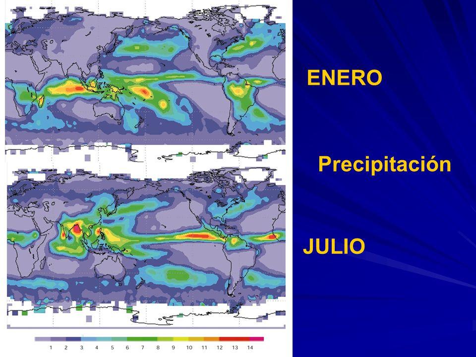 Precipitación JULIO ENERO