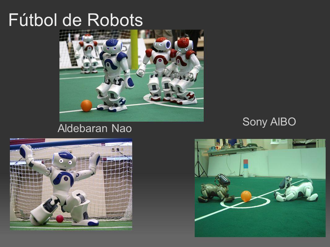 Fútbol de Robots Aldebaran Nao Sony AIBO