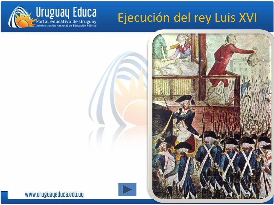 Ejecución del rey Luis XVI