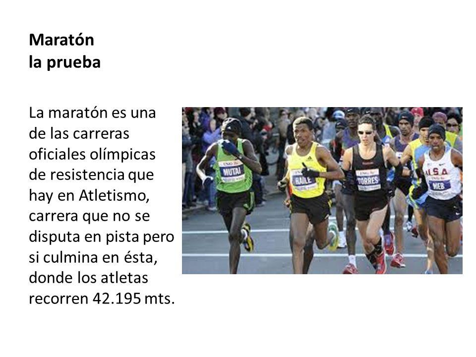 Aspectos reglamentarios En estas pruebas de marcha y maratón, un atleta puede ser descalificado si se comprueba que realiza un desvío en el recorrido con el fin de acortarlo.