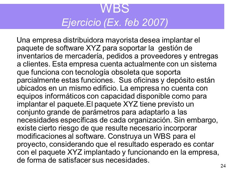 24 WBS Ejercicio (Ex.