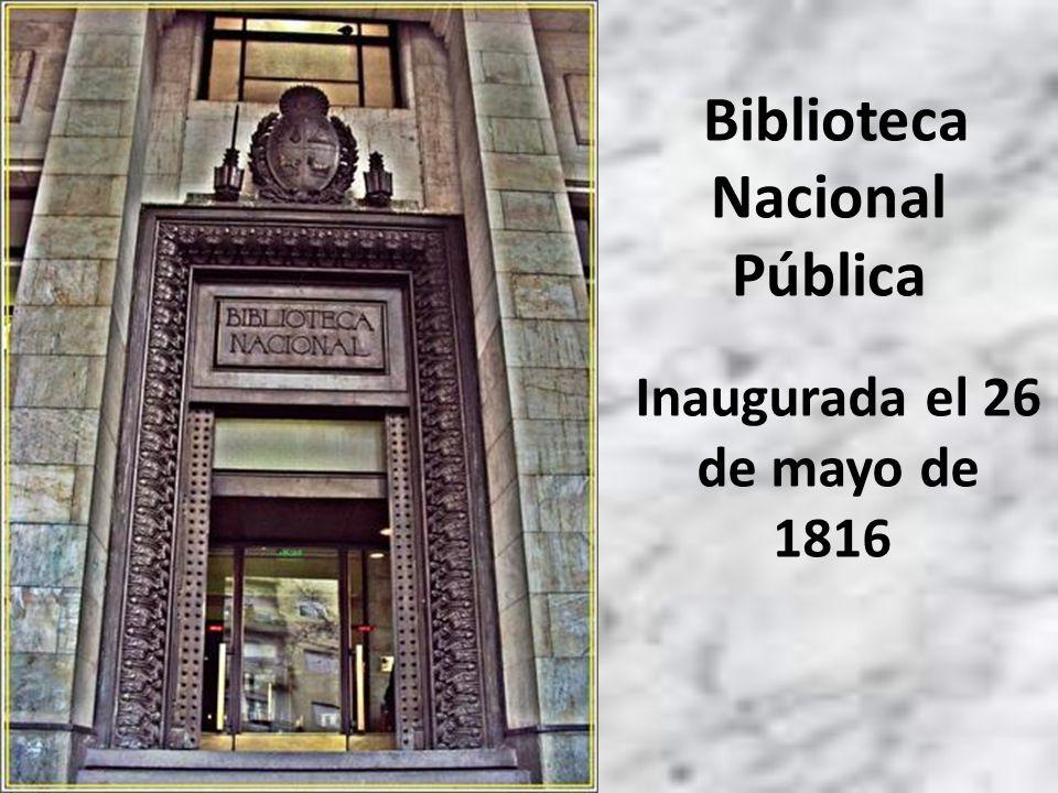 Propuso al Cabildo la creación de la Biblioteca, con la finalidad de que a ella pudieran concurrir nuestros jóvenes y todos los que deseen saber.