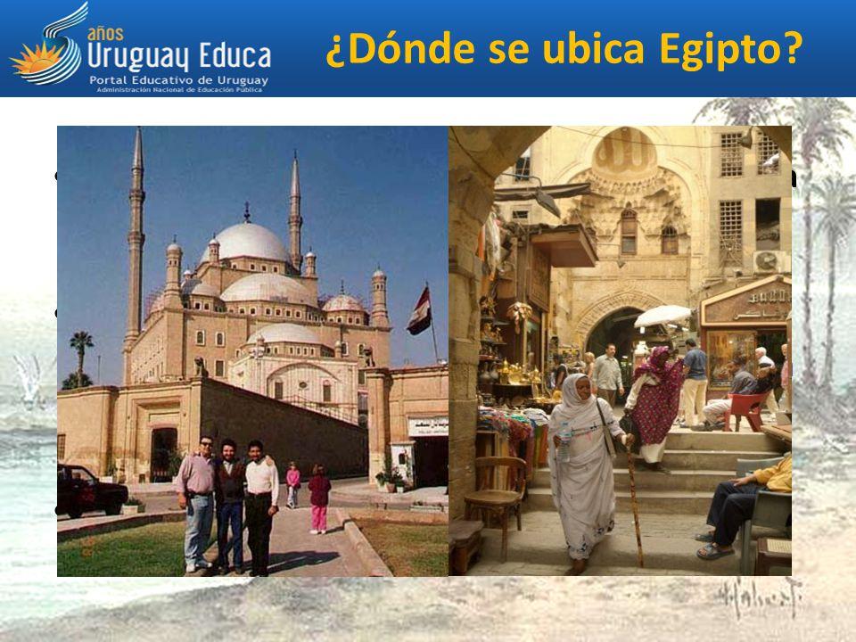 ¿Dónde se ubica Egipto.