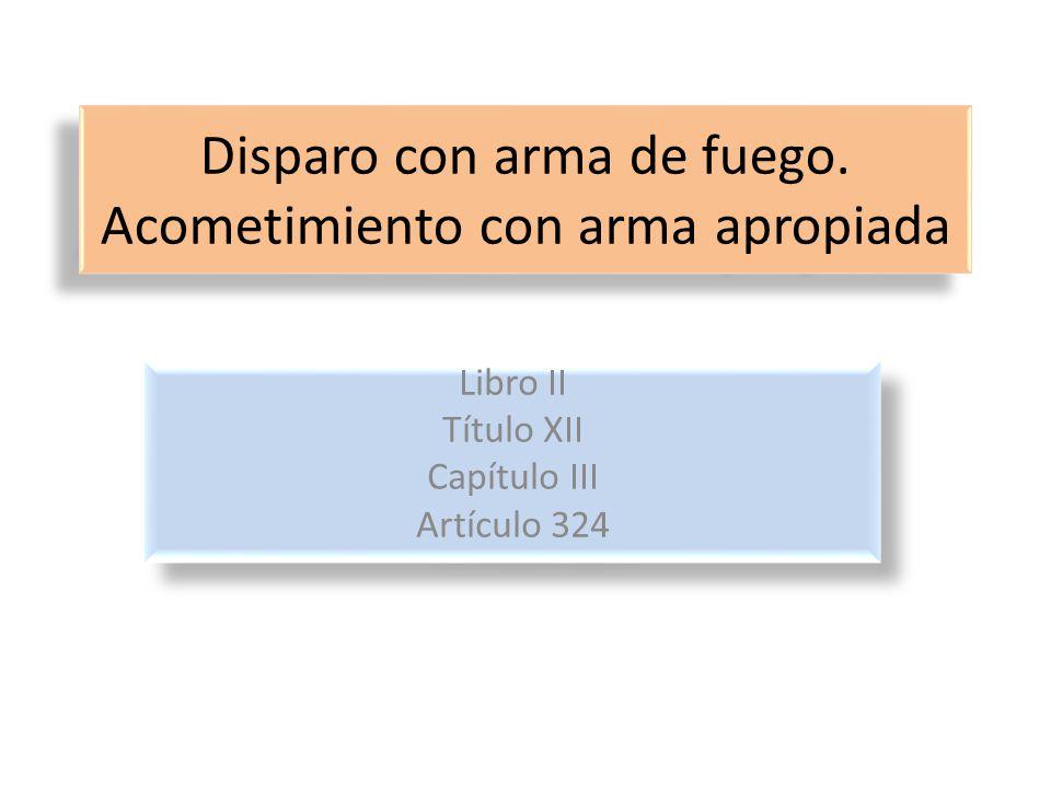 Artículo 324, C.P.U.