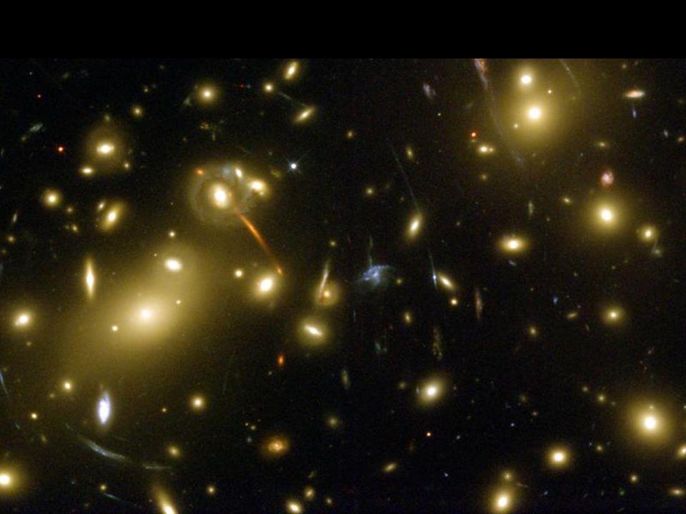 Formación de elementos Estrellas: a partir de nubes de H y He Estrellas: a partir de nubes de H y He Núcleo estrella: H He C O Fe Núcleo estrella: H He C O Fe Supernova: demás elementos de la tabla Supernova: demás elementos de la tabla Nueva generación de estrellas puede tener planetas como la Tierra Nueva generación de estrellas puede tener planetas como la Tierra