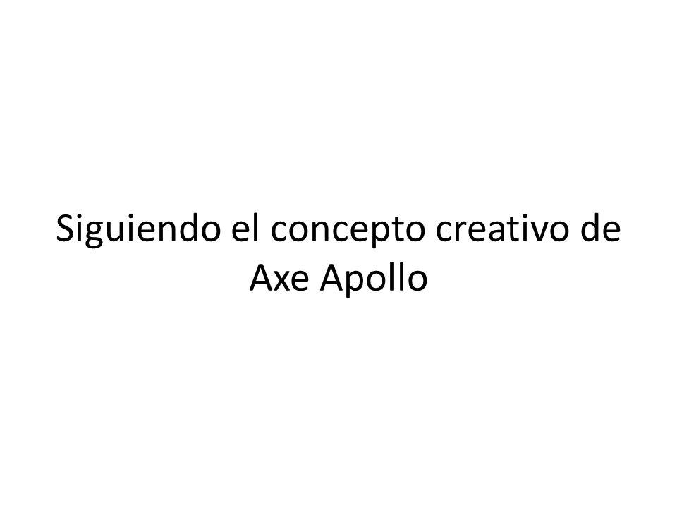 Siguiendo el concepto creativo de Axe Apollo