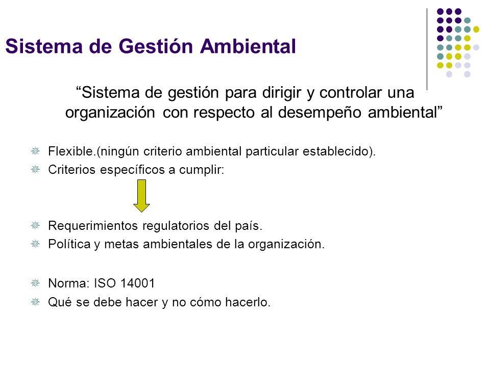 Herramientas disponibles Sistemas de Gestión Ambiental (ISO 14000) Sistemas de producción integrada. Buenas prácticas agrícolas. Producción Ecológica