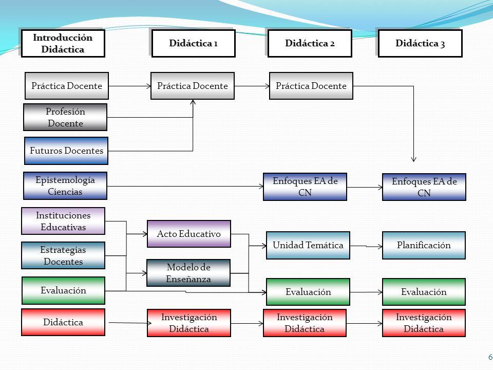 6 Futuros Docentes Profesión Docente Didáctica Instituciones Educativas Estrategias Docentes Evaluación Práctica Docente Acto Educativo Modelo de Ense