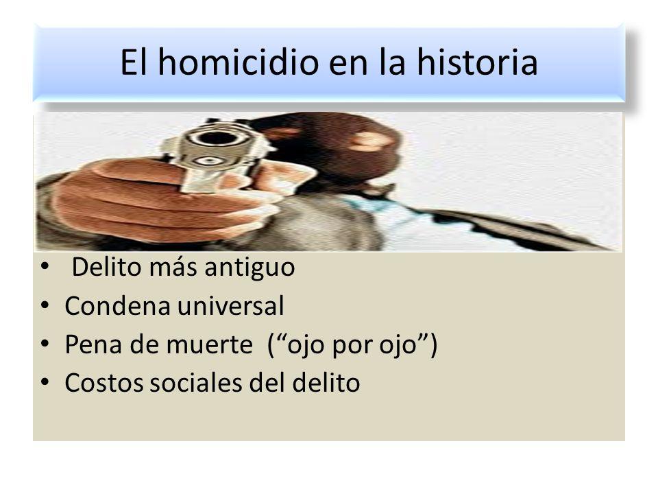 El homicidio en la historia Tratamiento procesal de las figuras del colaborador, el testigo protegido y la vigilancia electrónica en los juicios penal