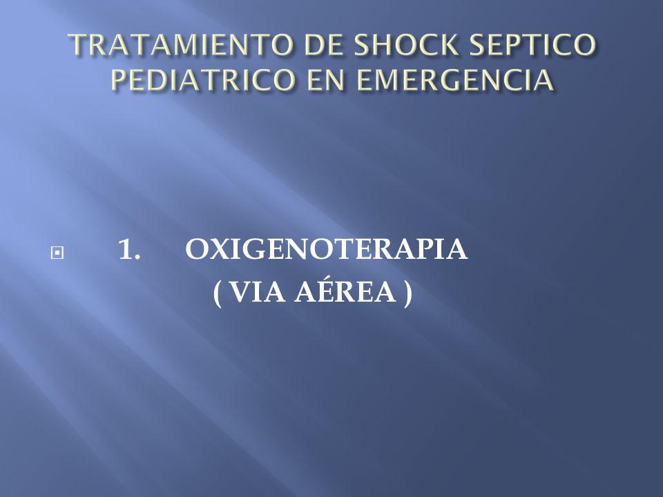 1. OXIGENOTERAPIA ( VIA AÉREA )