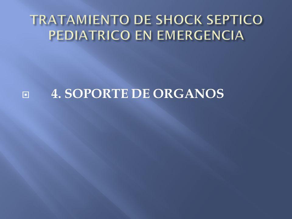 4. SOPORTE DE ORGANOS