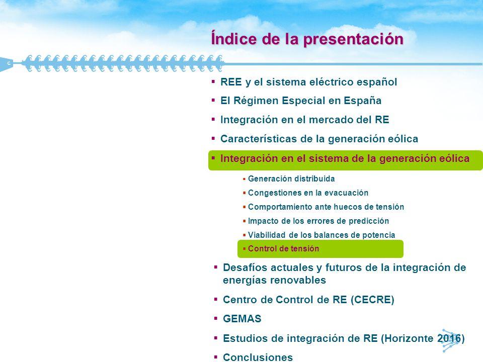 Control de tensión (I) q RD 661/2007 Art.29: complemento por energía reactiva.