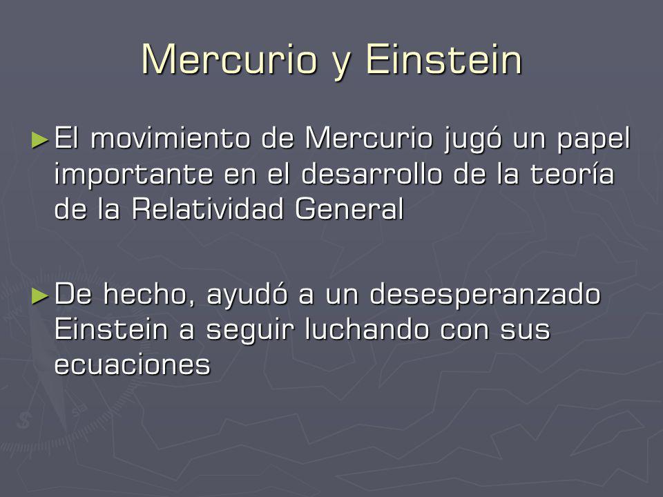 Relatividad General Einstein, 1915 Einstein, 1915 Teoría de la gravedad Teoría de la gravedad Compatible con la Relatividad Especial de 1905 Compatible con la Relatividad Especial de 1905