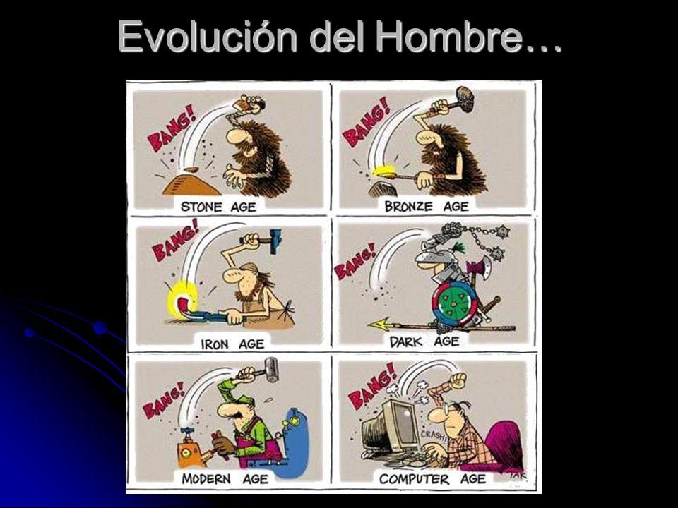 Evolución del Hombre…