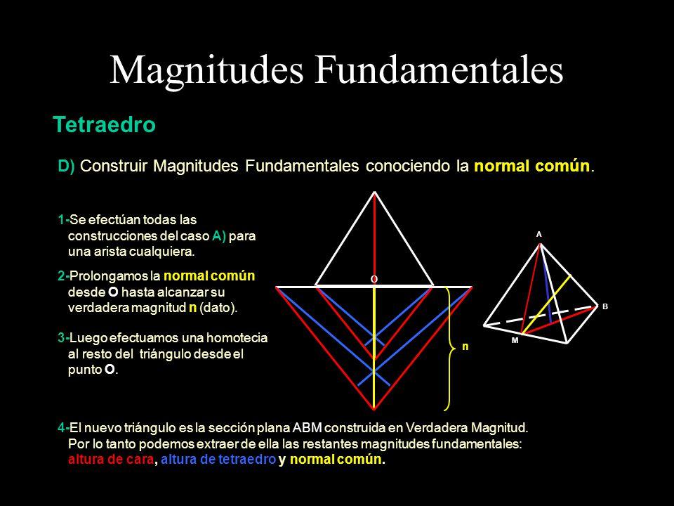 Magnitudes Fundamentales Cubo El Cubo o Hexaedro Regular es un Poliedro conformado por seis caras, ocho vértices y doce aristas.