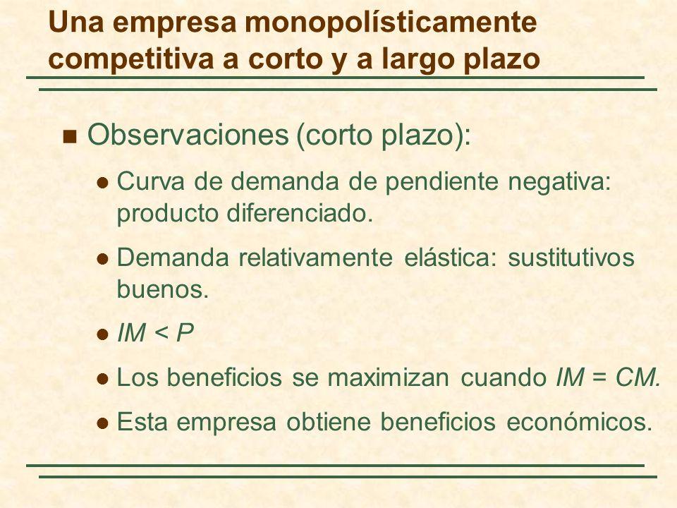 El modelo de la empresa dominante: En algunos mercados oligopolísticos, una gran empresa tiene una proporción significativa de las ventas totales y un grupo de empresas más pequeñas abastece al resto del mercado.