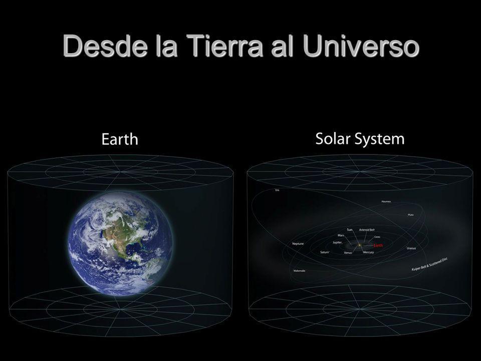 Desde la Tierra al Universo