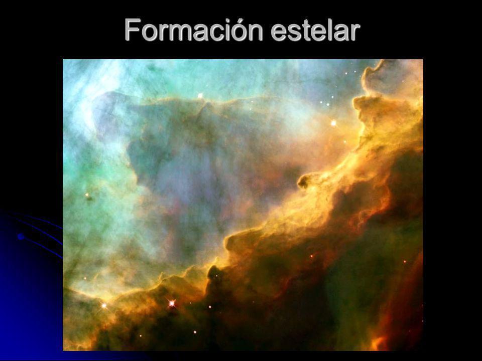 Formación estelar