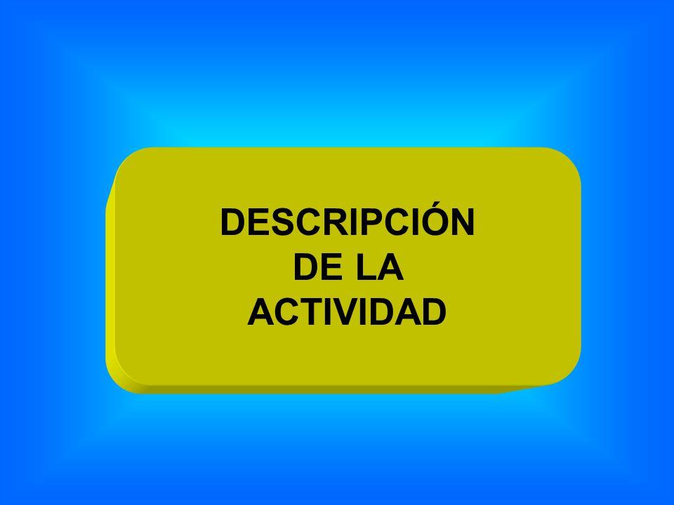 DESCRIPCIÓN DE LA ACTIVIDAD