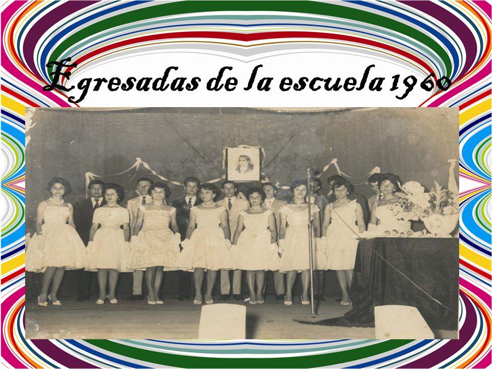 Egresadas de la escuela 1960