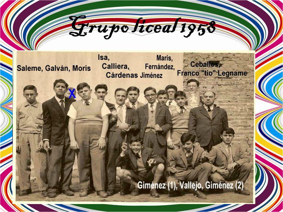 Grupo liceal 1958