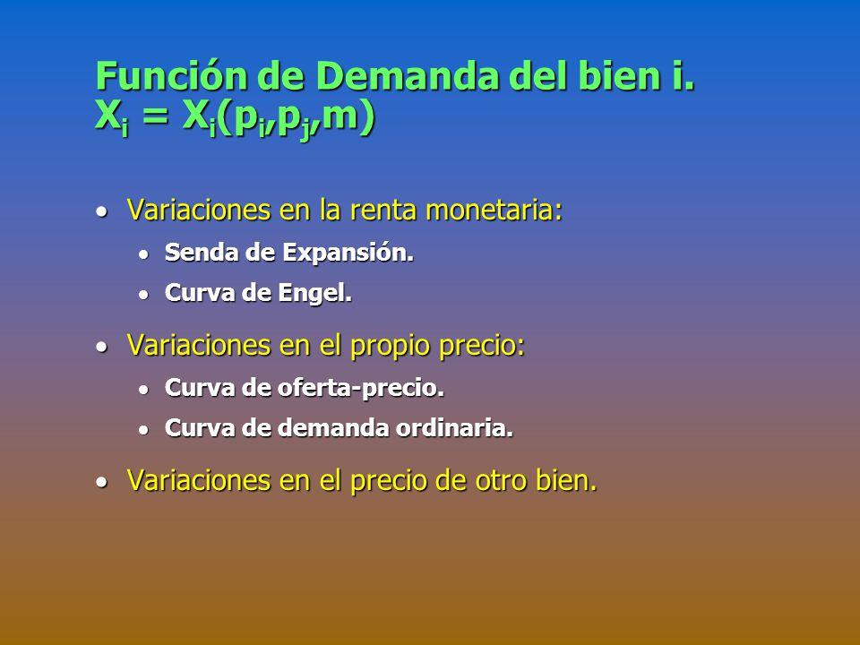 BIENES SUSTITUTOS PERFECTOS (III).La Curva de demanda.