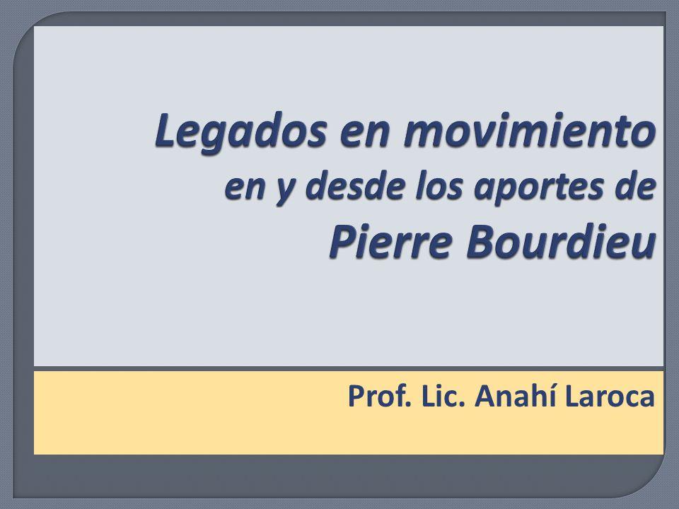 Prof. Lic. Anahí Laroca