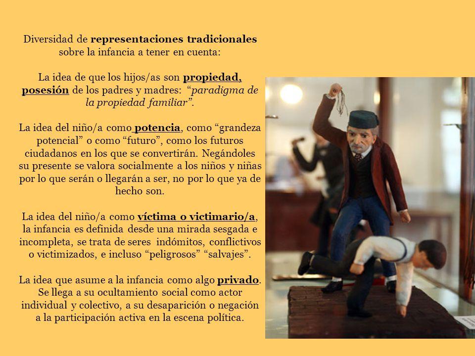 Diversidad de representaciones tradicionales sobre la infancia a tener en cuenta: La idea de que los hijos/as son propiedad, posesión de los padres y