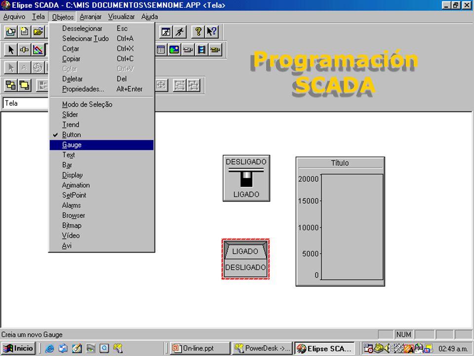 ProgramaciónSCADAProgramaciónSCADA