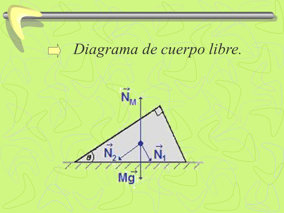 Diagrama de cuerpo libre.