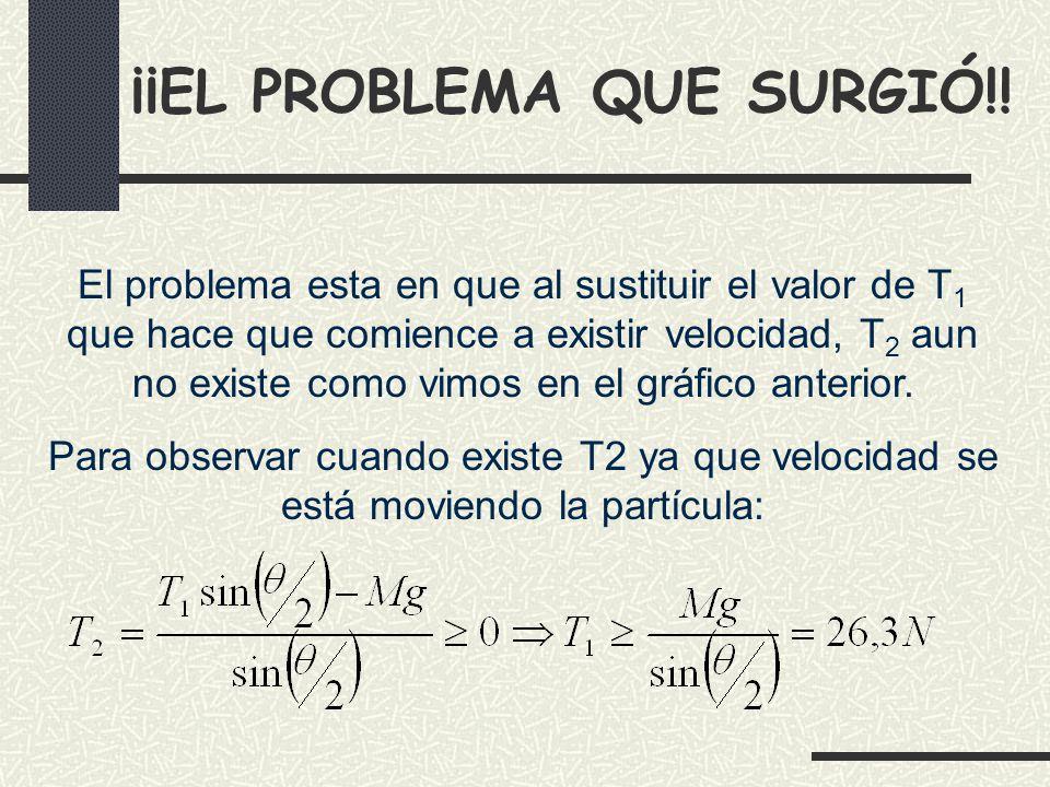 ¡¡EL PROBLEMA QUE SURGIÓ!.