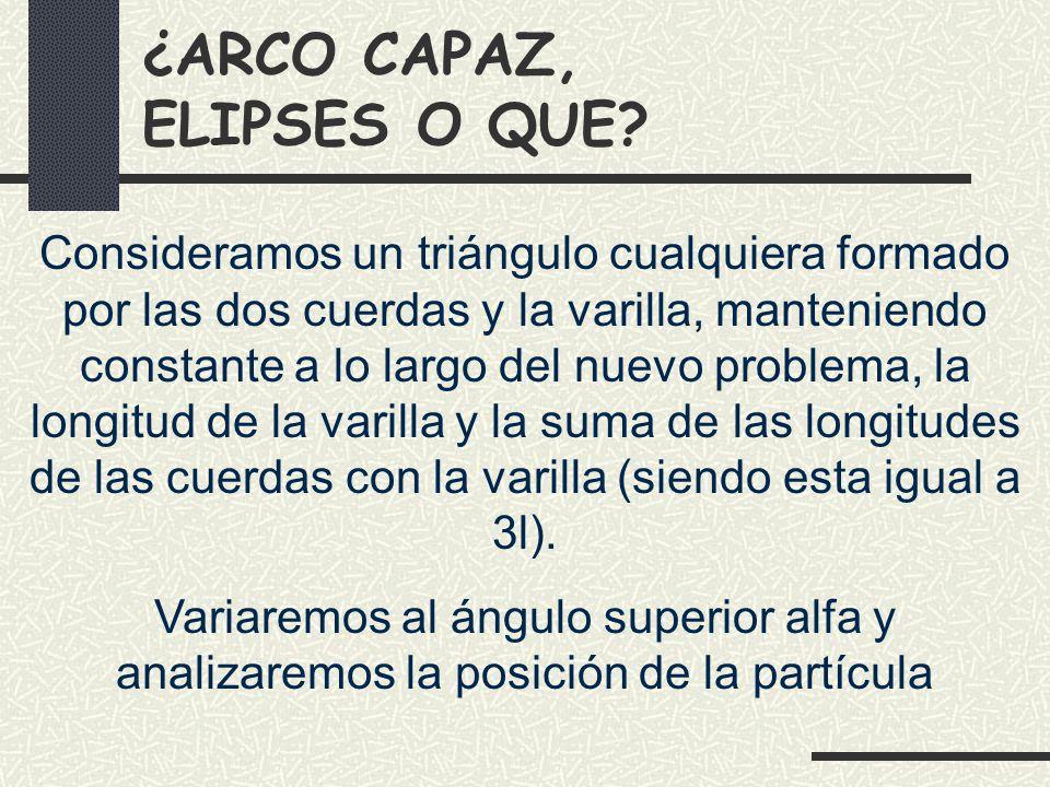 ¿ARCO CAPAZ, ELIPSES O QUE.