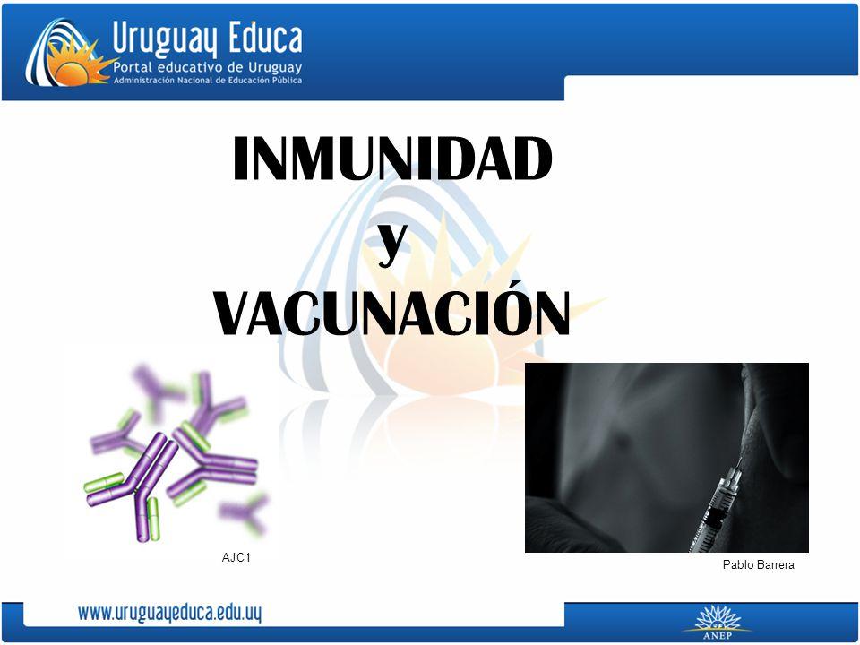 INMUNIDAD y VACUNACIÓN Pablo Barrera AJC1