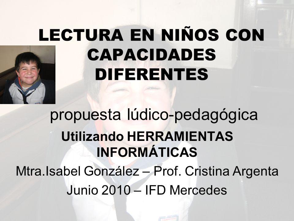 Utilizando HERRAMIENTAS INFORMÁTICAS Mtra.Isabel González – Prof.